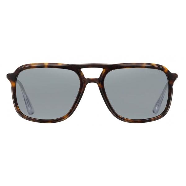Prada - Prada Game Collection - Occhiali Rettangolare - Tartaruga - Prada Collection - Prada Eyewear