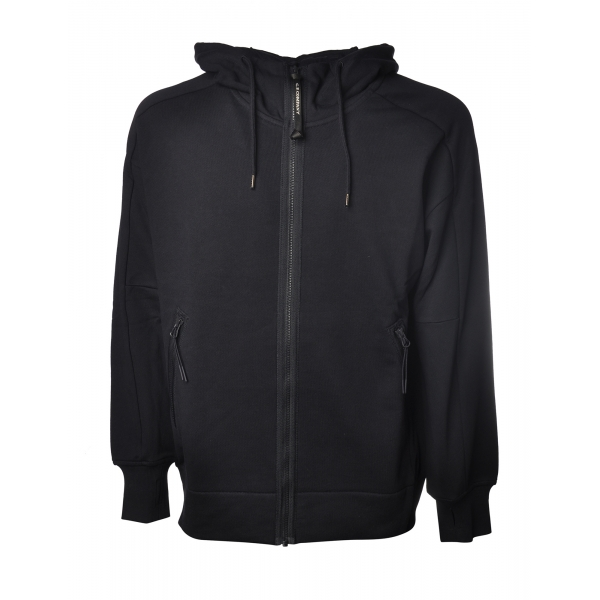 C.P. Company - Open Hoodie - Blue - Luxury Exclusive Collection