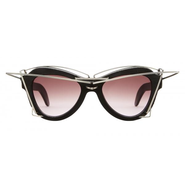Kuboraum - Mask Y2 - Black Burnt - Y2 BM AI - Artificial Intelligence - Sunglasses - Kuboraum Eyewear