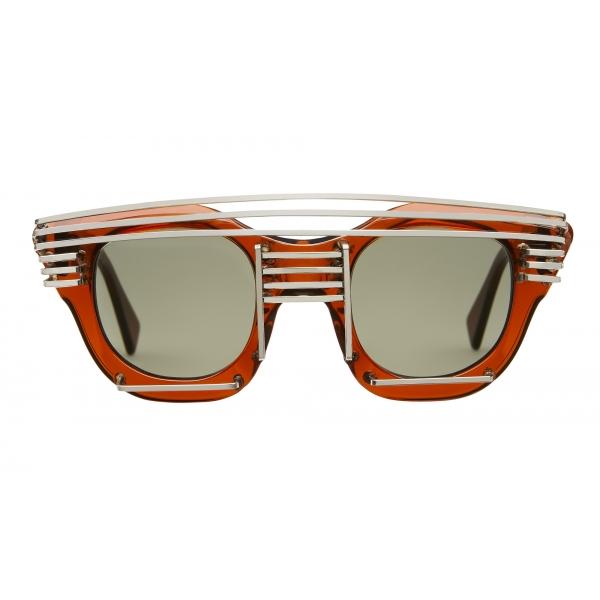 Kuboraum - Mask U10 - Copper - U10 COP AI - Artificial Intelligence - Sunglasses - Kuboraum Eyewear