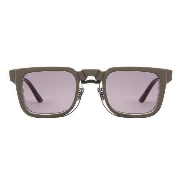 Kuboraum - Mask N4 - Grigio Caldo - N4 WG - Occhiali da Sole - Kuboraum Eyewear