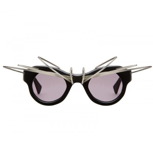 Kuboraum - Mask L1 - Black Matt - L1 BM AI - Artificial Intelligence - Sunglasses - Kuboraum Eyewear