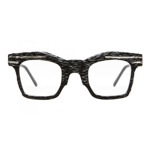Kuboraum - Mask K21 - Nero Opaco - K21 BM AI - Artisanal Instinct - Occhiali da Vista - Kuboraum Eyewear