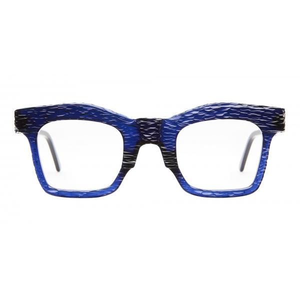 Kuboraum - Mask K21 - Royal Blue - K21 BL CZ - Crystal - Optical Glasses - Kuboraum Eyewear
