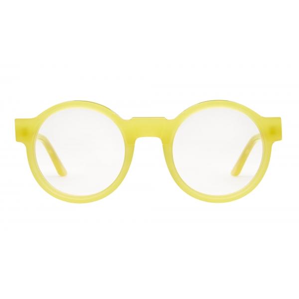 Kuboraum - Mask K10 - Yellow - K10 TT - Optical Glasses - Kuboraum Eyewear