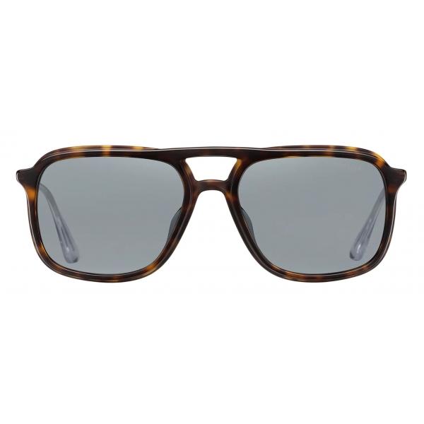 Prada - Prada Game Collection - Occhiali Rettangolare- Tartaruga - Prada Collection - Prada Eyewear