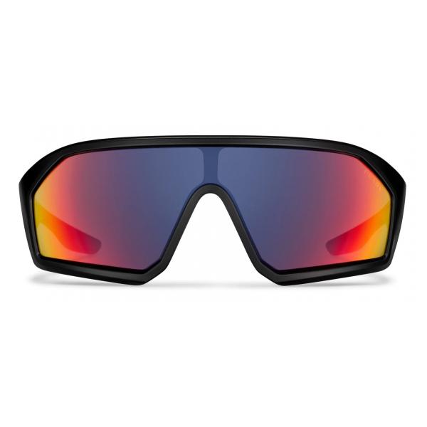 Prada - Prada Linea Rossa Impavid - Mask - Opaque Black - Prada Collection - Sunglasses - Prada Eyewear