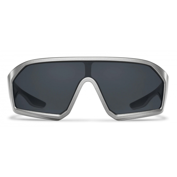 Prada - Prada Linea Rossa Impavid - Mask - Opaque Pewter Gray - Prada Collection - Sunglasses - Prada Eyewear