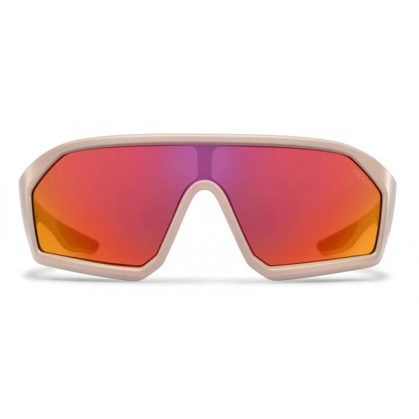 Prada - Prada Linea Rossa Impavid - Mask - Opaque Sand Beige - Prada Collection - Sunglasses - Prada Eyewear