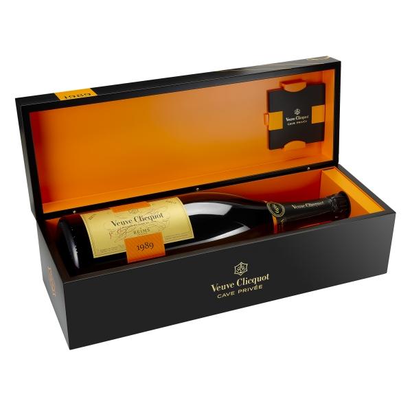 Veuve Clicquot Champagne - Cave Privée - 1989 - Jéroboam - Cassa Legno - Pinot Noir - Luxury Limited Edition - 3 l