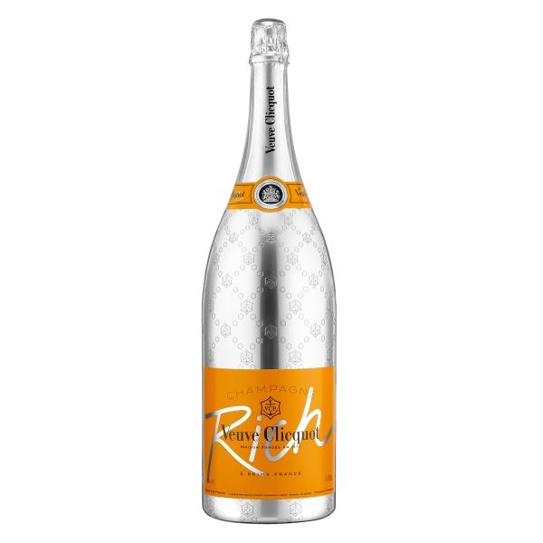 Veuve Clicquot Champagne - Rich - Jéroboam - Cassa Legno - Pinot Noir - Luxury Limited Edition - 3 l