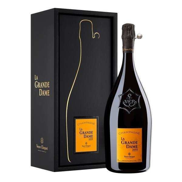 Veuve Clicquot Champagne - La Grande Dame - 2008 - Magnum - Gift Box - Pinot Noir - Luxury Limited Edition - 1,5 l
