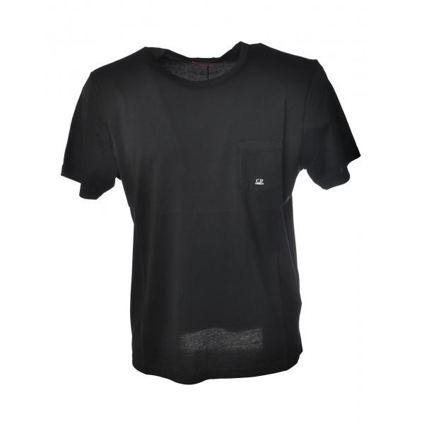 C.P. Company - Cotton T-Shirt - Black - Luxury Exclusive Collection
