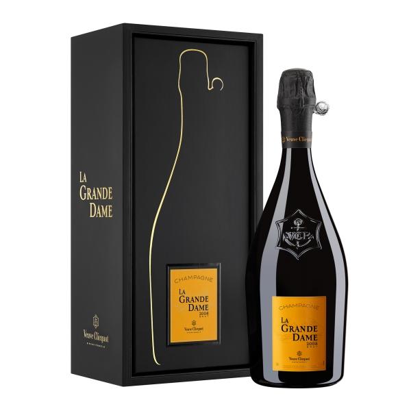 Veuve Clicquot Champagne - La Grande Dame - 2008 - Gift Box - Pinot Noir - Luxury Limited Edition - 750 ml