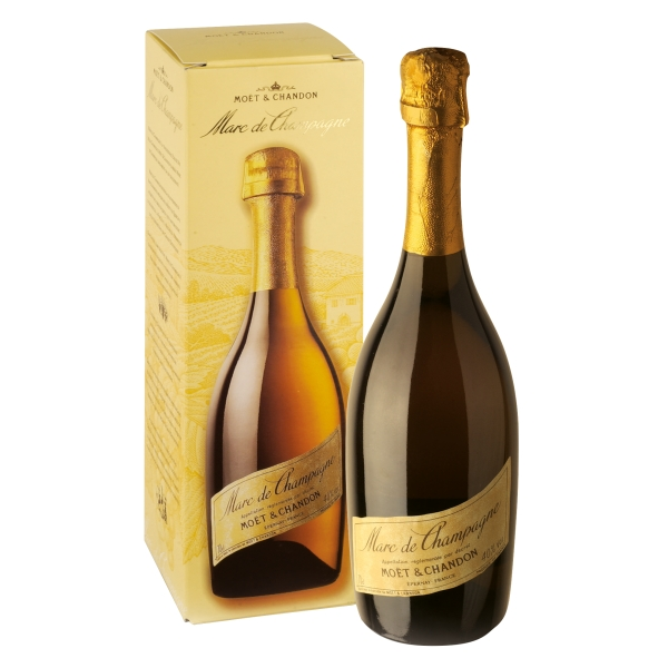 Moët & Chandon Champagne - Marc de Champagne - Grappa - Liqueurs and Spirits - Luxury Limited Edition - 750 ml