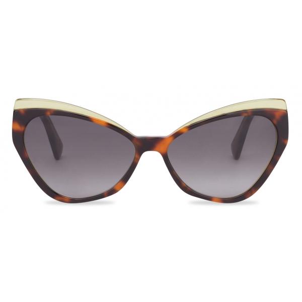 Moschino - Cat-Eye Sunglasses in Acetate - Black - Moschino Eyewear