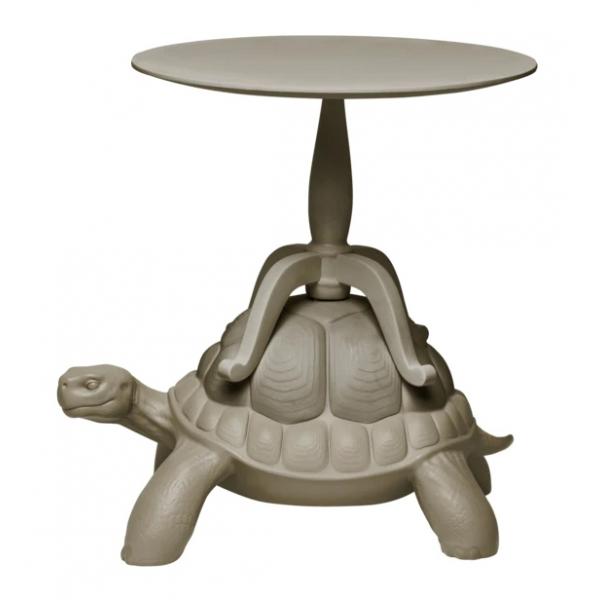 Qeeboo - Turtle Carry Coffee Table - White - Qeeboo Coffee Table by Marcantonio - Furnishing - Home