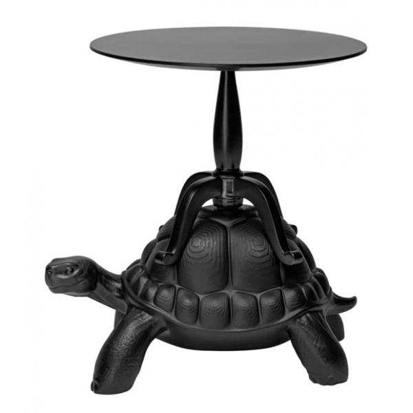 Qeeboo - Turtle Carry Coffee Table - Nero - Tavolino da Caffè Qeeboo by Marcantonio - Arredo - Casa