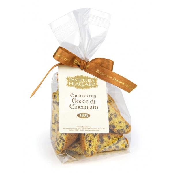 Pasticceria Fraccaro - Cantucci alle Goccie di Cioccolato - Pasticceria - Fraccaro Spumadoro