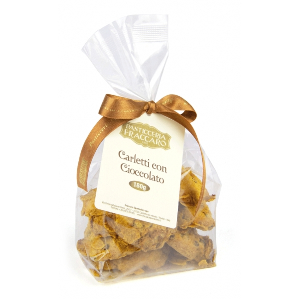 Pasticceria Fraccaro - Carletti al Cioccolato - Pasticceria - Fraccaro Spumadoro