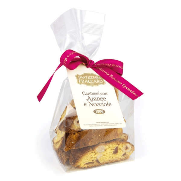 Pasticceria Fraccaro - Cantucci with Orange and Hazelnut - Pastry - Fraccaro Spumadoro