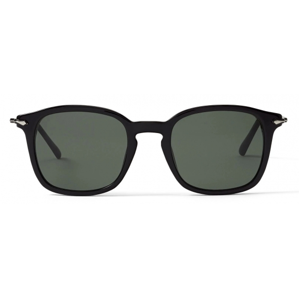 Jimmy Choo - Clive - Occhiali da Sole con Montatura Ovale in Metallo Palladio - Jimmy Choo Eyewear
