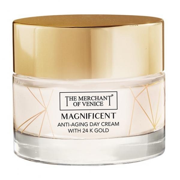 The Merchant of Venice - Magnificent Crema Giorno Idratante Anti-Ageing con Oro 24K - Cosmetici Luxury Veneziani - 50 ml
