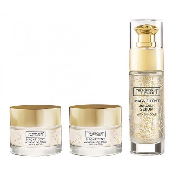The Merchant of Venice - Magnificent Bundle con Oro 24K - Cosmetici Luxury Veneziani