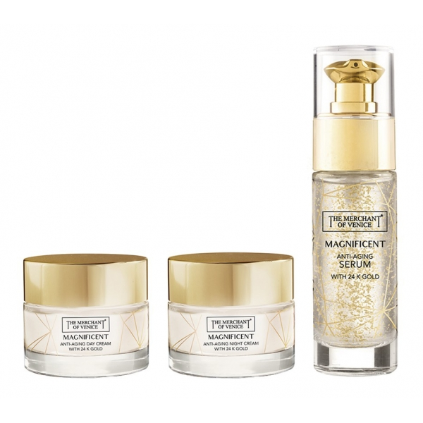 The Merchant of Venice - Magnificent Bundle with 24K Gold - Luxury Venetian Cosmetics