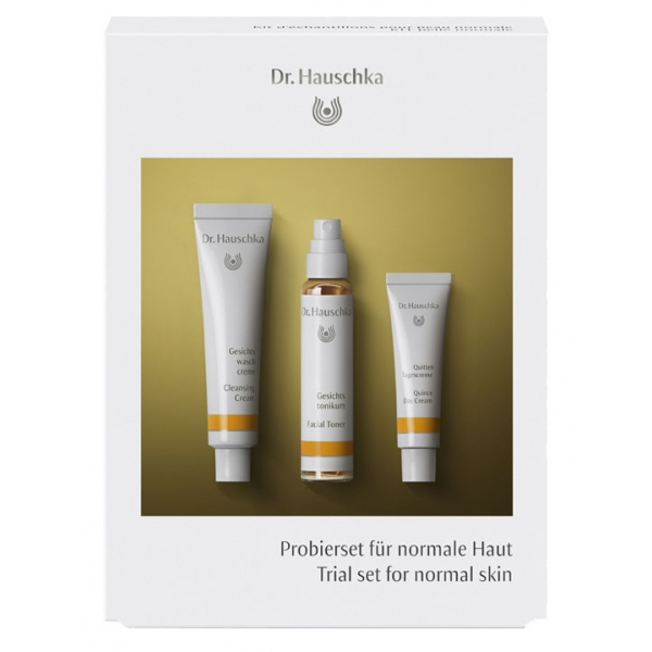 Dr. Hauschka - Trial Set for Normal Skin - Refreshing Care for Every Day - Professional Luxury Cosmetics