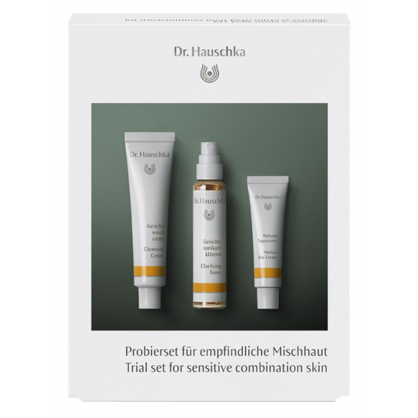 Dr. Hauschka - Trial Set for Sensitive Combination Skin - Balancing Care for Every Day - Professional Luxury Cosmetics