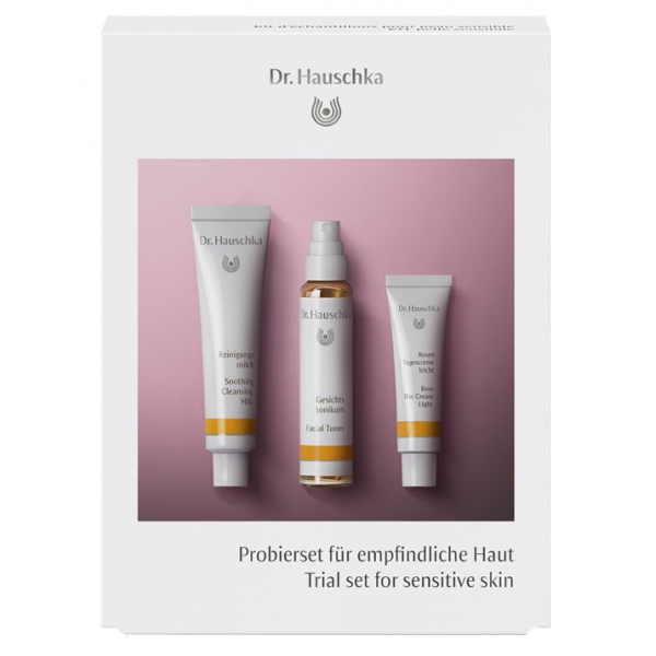 Dr. Hauschka - Trial Set for Sensitive Skin - Calming Care for Every Day - Professional Luxury Cosmetics