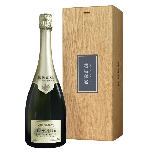 Krug Champagne - Clos du Mesnil - 2006 - Cassa Legno - Chardonnay - Luxury Limited Edition - 750 ml