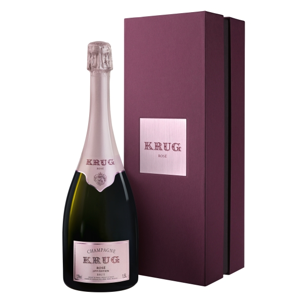 Krug Champagne - Rosé - Magnum - Gift Box - Pinot Noir - Luxury Limited Edition - 1,5 l