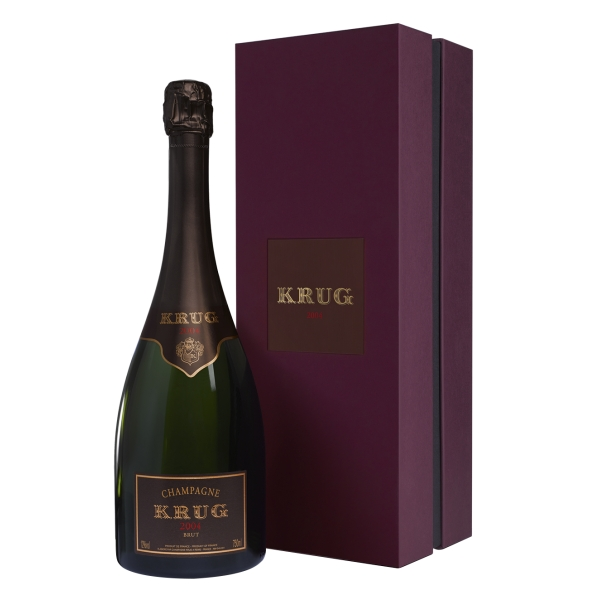 Krug Champagne - Vintage - 2004 - Gift Box - Pinot Noir - Luxury Limited Edition - 750 ml