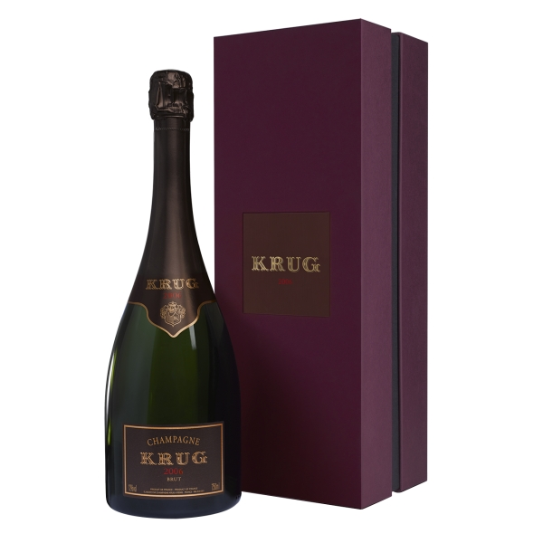 Krug Champagne - Vintage - 2006 - Gift Box - Pinot Noir - Luxury Limited Edition - 750 ml