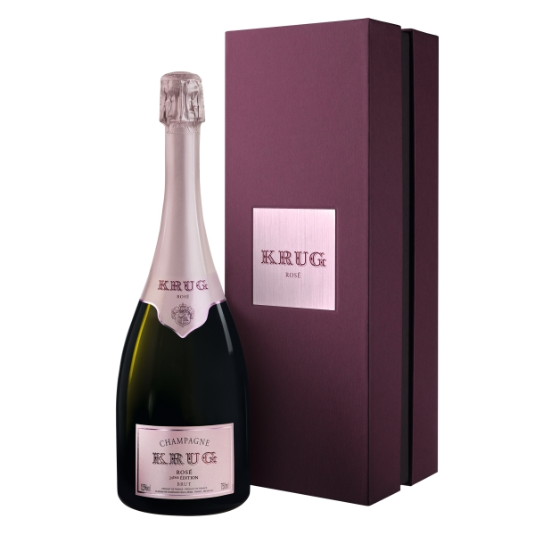Krug Champagne - Rosé - Gift Box - Pinot Noir - Luxury Limited Edition - 750 ml