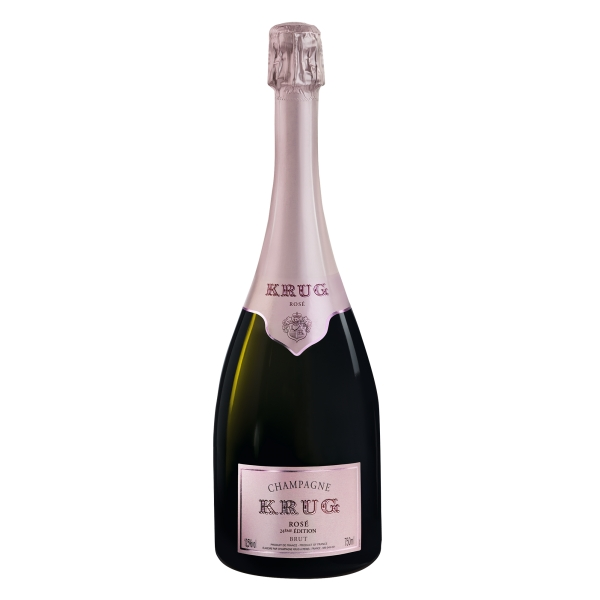 Krug Champagne - Rosé - Pinot Noir - Luxury Limited Edition - 750 ml