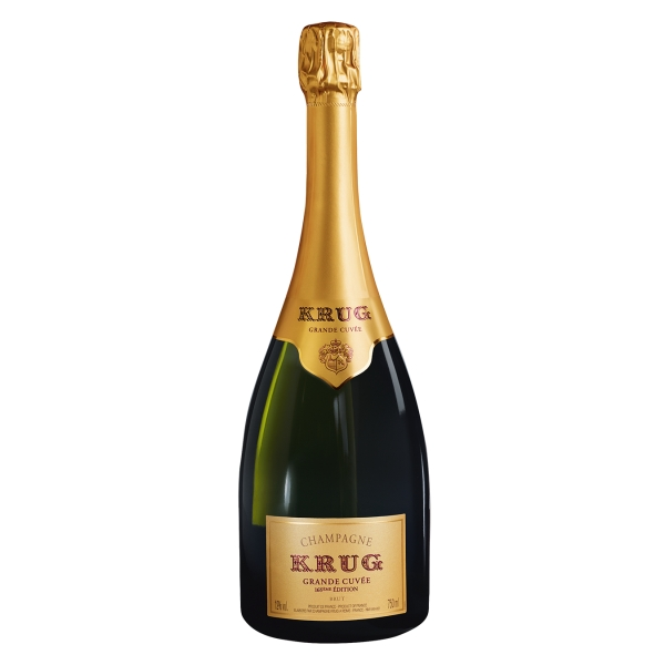 Krug Champagne - Grande Cuvée - Pinot Noir - Luxury Limited Edition - 750 ml