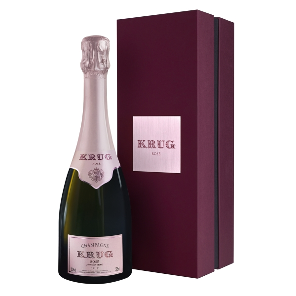 Krug Champagne - Rosé - Half - Gift Box - Pinot Noir - Luxury Limited Edition - 375 ml