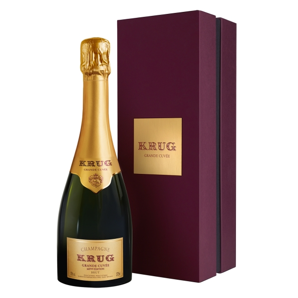Krug Champagne - Grande Cuvée - Half - Gift Box - Pinot Noir - Luxury Limited Edition - 375 ml