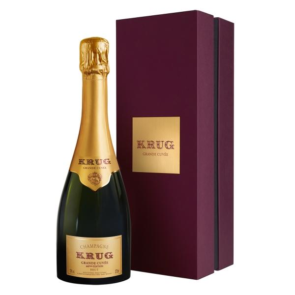 Krug Champagne - Grande Cuvée - Mezza - Astucciato - Pinot Noir - Luxury Limited Edition - 375 ml