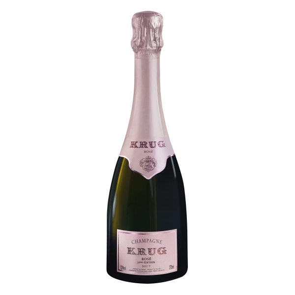 Krug Champagne - Rosé - Half - Pinot Noir - Luxury Limited Edition - 375 ml