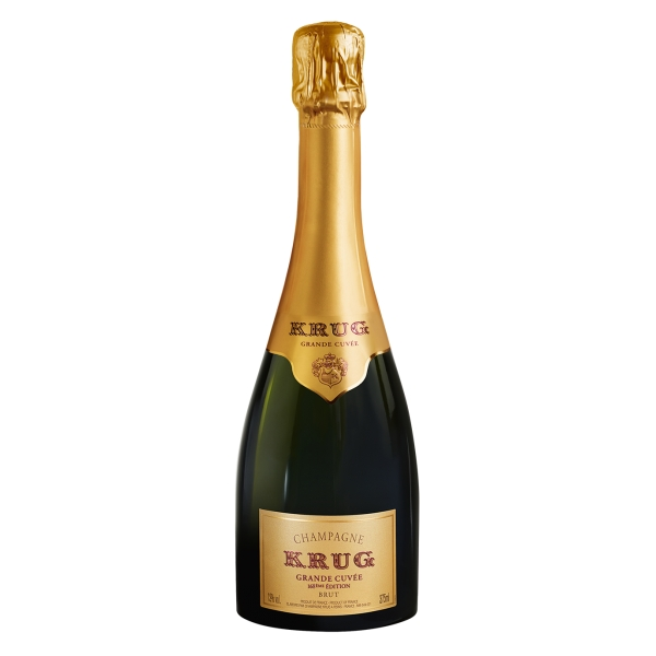 Krug Champagne - Grande Cuvée - Astucciato - Pinot Noir - Luxury Limited Edition - 375 ml