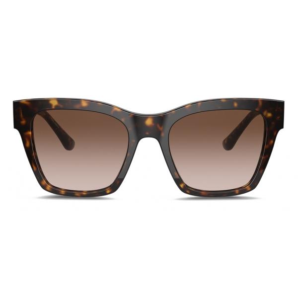 Dolce & Gabbana - Occhiale da Sole Print Family - Avana - Dolce & Gabbana Eyewear