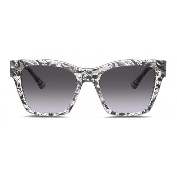 Dolce & Gabbana - Print Family Sunglasses - Lace - Dolce & Gabbana Eyewear