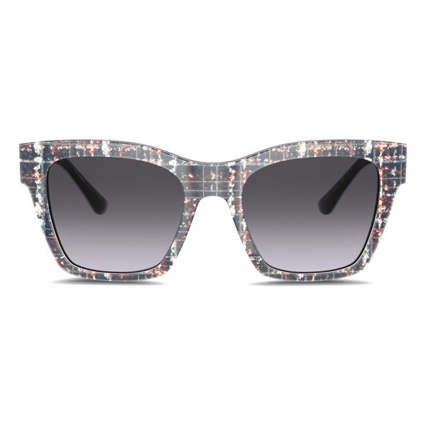 Dolce & Gabbana - Occhiale da Sole Print Family - Stampa Weed - Dolce & Gabbana Eyewear