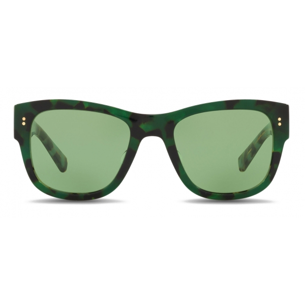 Dolce & Gabbana - Eccentric Sartorial Sunglasses - Havana Green Blue - Dolce & Gabbana Eyewear