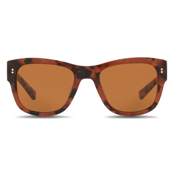 Dolce & Gabbana - Eccentric Sartorial Sunglasses - Havana Brown Pink - Dolce & Gabbana Eyewear