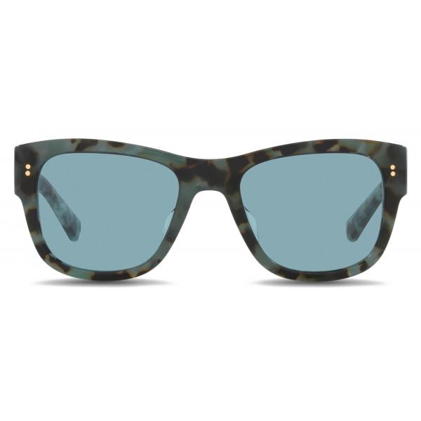 Dolce & Gabbana - Eccentric Sartorial Sunglasses - Havana Blue - Dolce & Gabbana Eyewear